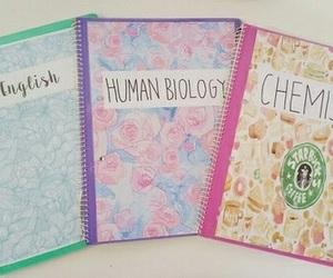notebook, school, and diy image