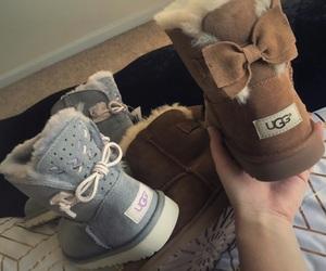 boots, ribbon, and bow image