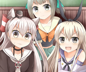 anime, girl, and kancolle image