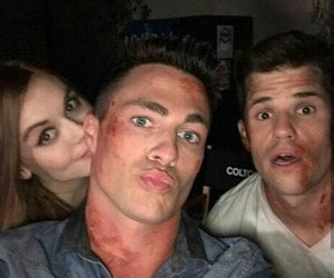 serie, teen wolf, and selfie image