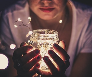 fireflies, lights, and passion image