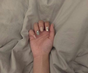 nails, unhas, and style image