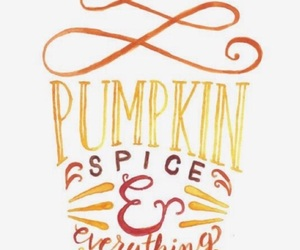 background, iphone, and pumpkin spice image