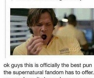 funny, supernatural, and sam winchester image