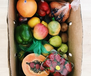 colorful, farmers market, and fit image