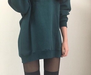 fashion, clothes, and green image