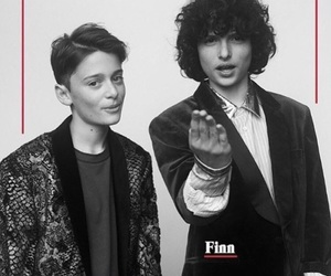 stranger things, finn wolfhard, and noah schnapp image