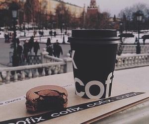 coffee, city, and food image