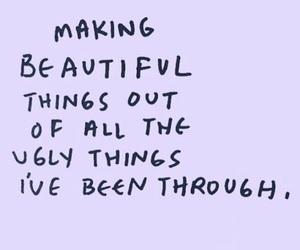 beautiful things, i, and making image