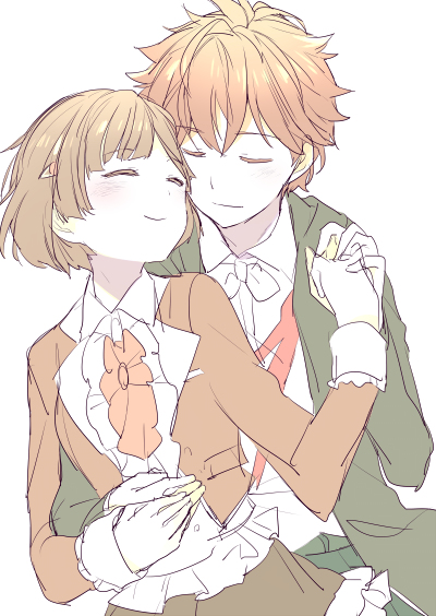 couple, anime, and love image