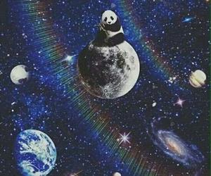 banda, stars galaxy, and باندا image