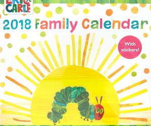 calendar, eric carle, and hungry caterpillar image