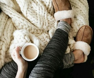 fashion, christmas, and coffee image