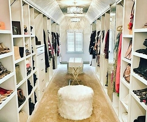 chic, closet, and clothes image