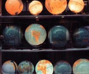 globe, world, and travel image