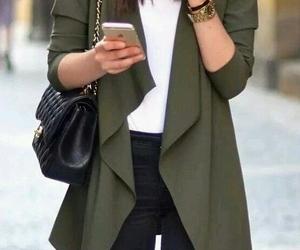 fashion, coat, and jacket image
