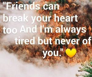 broken heart, Lyrics, and quote image