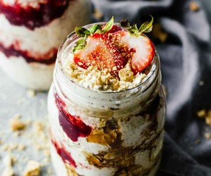 baking, cheesecake, and breakfast image