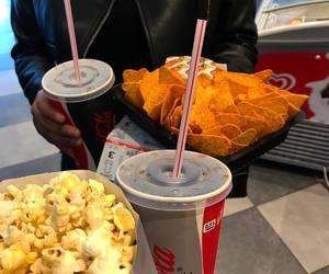 cinema, food, and nachos image