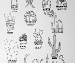 cactus, kaktus, and myfriends image