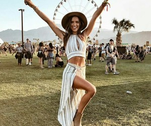 girl, coachella, and fashion image
