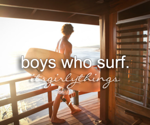 boy, surf, and surfing image