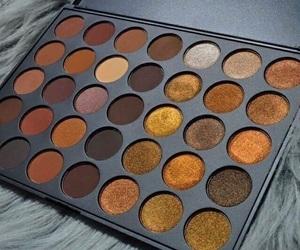 makeup, autumn, and eyeshadow image