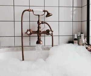 bath, interior, and relax image