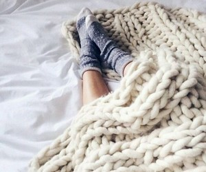 cozy, socks, and winter image