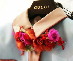 gucci and flowers image