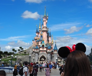 castle, magical, and paris image