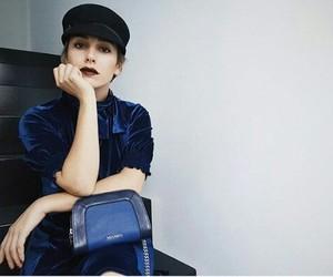 actress, bag, and beauty image