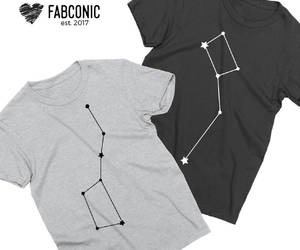 constellation, constellations, and couple tshirts image
