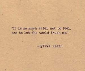 quotes, safe, and sylvia plath image