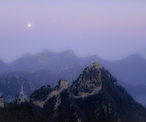 moon, aesthetic, and china image