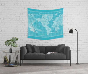 etsy, wall tapestry, and bedroom decor image