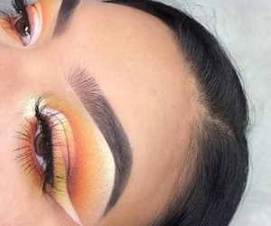 girl, makeup, and instagram image