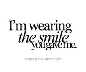 quotes, smile, and text image