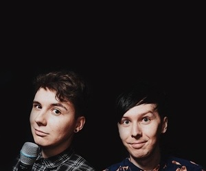 dan and phil, phil lester, and dan howell image