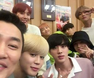 jin, bts, and kim namjoon image