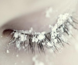 snow, eye, and winter image