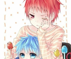 anime, akashi, and kuroko no basket image