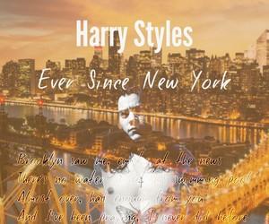 Lyrics, harry styles album, and new york image