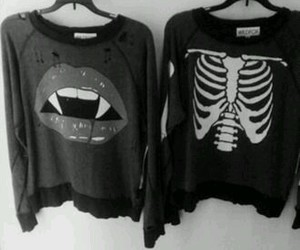 fashion, vampire, and black image