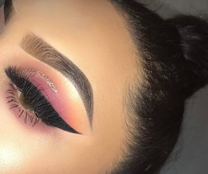 girl, make up, and luxury image