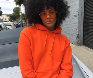 Afro, girl, and melanin image