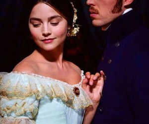 victoria and albert, tom hughes, and jenna coleman image