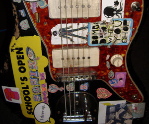 guitar, grunge, and rock image