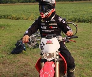 cross, Honda, and motocross image