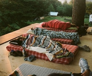 sleep, friends, and nature image